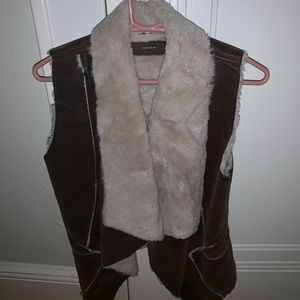 Blank NYC brown vest